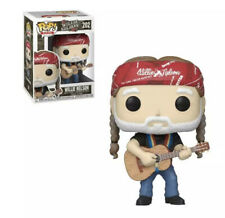 Funko Pop! Rocks - Willie Nelson Collectible Vinyl Figure #202 with protector