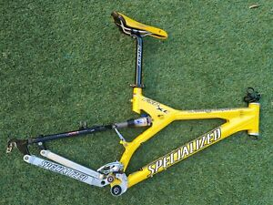 2000 Specialized Stumpjumper FSR XC Pro Full Suspension Frame w Lots of Parts