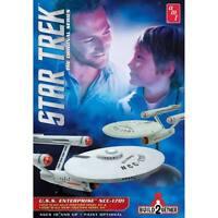 AMT 913 Star Trek USS Enterprise NCC-1701 Build2Gether 2 in1 Plastic Model Kit