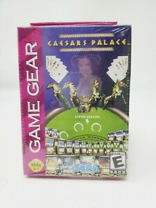 Caesars Palace (Sega Game Gear, 2000) Factory Sealed