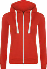 Unifarbene Größe 42 Damen-Kapuzenpullover & -Sweats mit Kapuze