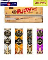 Raw pre rolled lean cones 20/pk | 4 Billionaire Pure Hemp wraps |2/Pk | TTL 8