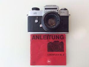 Leicaflex SL 2 Chrom Jubiläumskamera  ( 50 - Jahre) mit Summicron 2/50