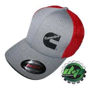 Cummins hat ball cap fitted flex fit flexfit stretch cummings dodge diesel OSFA