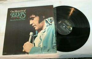 Elvis Our Memories of Elvis Record Volume 2 Very Good + Free Shipping