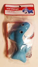 Kid Things SHARK Shaped Kids Snack Attack Holder 1/2 Cup NEW *FAST SHIPPING