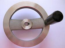 Aluminium Kontrolle Handrad 160mm 14mm Bohrung Drehbank Fräsen Hobel Bohrer