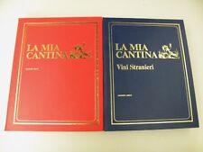 LA MIA CANTINA - T. DE ROSA, A.ANGIOLETTI - 2 LIBRI - LIBREX 1969/1970 - L28
