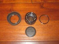 Minolta MC ROKKOR-PF 50mm f/1.7 Manual Focus Prime Lens CLEAN W/ CAPS & FILTER