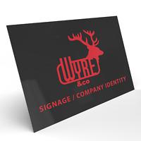Custom Aluminium Composite Shop Sign Business Signage Commercial 210x148mm