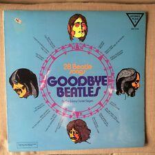 THE JOHNNY DUNNE SINGERS - GOODBYE BEATLES EX/EX LP 1st Pressing 1973
