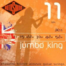 ROTOSOUND Jumbo King JK11 Phosphor Bronze 11-52 Acoustic STRINGS