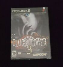 Clock Tower 3, PS2, Play Station 2,Factory Sealed