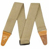 """Fender Classic Vintage Style 2"""" Wide Tweed Guitar or Bass Adjustable Strap"""