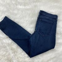 Banana Republic Women's Skinny Ankle Jeans Size 29 Blue Stretch Casual