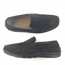 Geox Respira Size 9.5 US Slip On Driving Moc Comfort Loafers Shoes Suede Leather