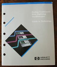 HP Feeling Comfortable with DIGITAL OSCILLOSCOPES  Book  1ST ED MARCH 1987