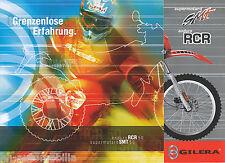 Gilera supermotard SMT enduro rcr folleto 2003 brochure scooters folleto