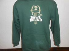 NEW-FLAWED NOTRE DAME FIGHTING IRISH YOUTH Large (14/16) Green HOODIE 35UJ