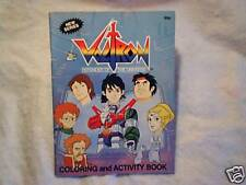 1985 Voltron Defender Of The Universe Coloring Book,tv cartoon,modern publishing