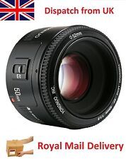 50mm f1.8 AF Lens Prime Fixed for Canon EF DSLR Camera Bokeh Blur Portrait Lens