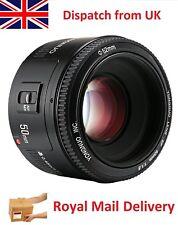 50mm f1.8 Af Primo Lente fissato per Canon DSLR Telecamera BOKEH EF Blur Ritratto Lens