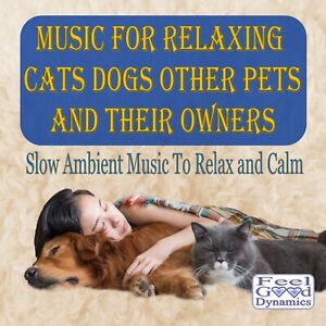 Music For Relaxing Cats Dogs Other Pets And Their Owners - Slow Ambient Music
