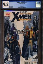 CGC 9.8 2011 X-Men Regenesis #1 Chris Bachalo Cover Marvel Comics