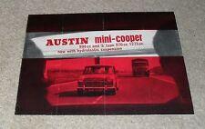 Austin Mini Cooper & S Type Brochure 1964-1965 - BMC Morris
