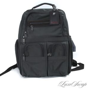 MODERN LNWOT Tumi Greened Grey Ballistic Microfiber Mesh Backpack Rucksack Bag