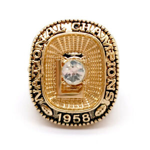 2008 LSU Tigers championship collectible Display Fan Ring sz 11