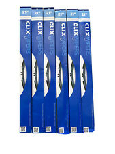 "Case of 6 CLX-21 Autotex 21""  CLIX Wiper Blades New"