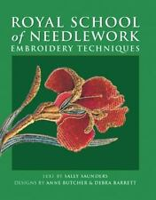 Royal School of Needlework Embroidery Techniques-ExLibrary