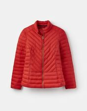 Joules Red Elodie Quilted Jacket Size 8