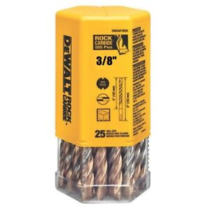 "(Pack of 25 Bits) DeWalt DW5427B25 3/8"" x 6"" Masonry Drill Bit SDS+ Plus"