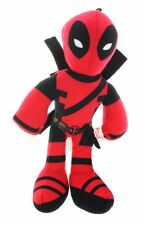 "DEADPOOL PLUSH! RED LARGE SOFT SUPERHERO DOLL FIGURE 20"" NWT"