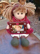 Bambola in Pezza da Collezione con Portafotografie Maricart