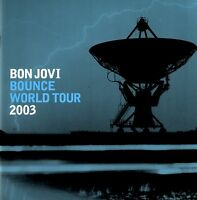BON JOVI  2003 BOUNCE TOUR CONCERT PROGRAM BOOK / RICHIE SAMBORA / NMT 2 MINT