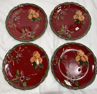 "(Set of 4) Tracy ""The Octavia Hill Collection"" Round Dinner Plate(s) - 11"""