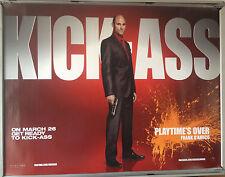 Cinema Poster: KICK-ASS 2010 (Frank D'Amico Quad) Mark Strong Nicolas Cage