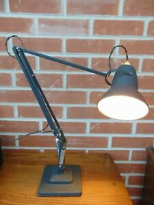 HERBERT TERRY VINTAGE MID CENTURY ANGLEPOISE DESK LAMP MODEL 1227 - WORKING