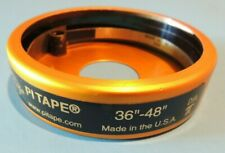"""Pi Tape 36"""" to 48"""" Range: Periphery Stainless Steel Inspection Tape Measure USA"""