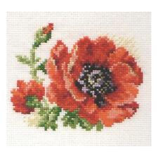 Alisa Cross Stitch Kit-Amapola