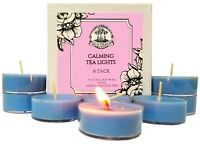 Calming Soy Tea Lights Peace Serenity Anxiety Stress Worry Wiccan Pagan Spells