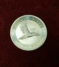 1996 Australian Kookaburra 2 oz. Silver 2 Dollars