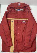 san francisco 49ers jacket vintage adidas XL