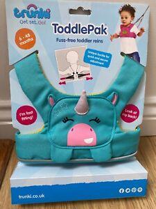 Trunki Reins Toddlepak Safety Harness kids toddler New