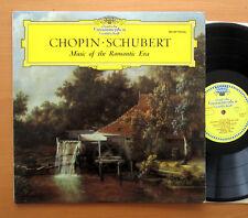DG 004 407 Chopin Schubert música de la época romántica Vasary Demus Tulipán MONO EX