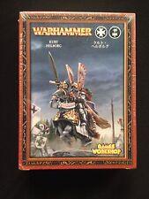 KURT HELBORG REIKSGARD MARSHAL WARHAMMER METAL Empire Imperio SEALED Reiksguard