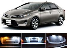 Xenon White License Plate / Tag 168 LED light bulbs for Toyota Corolla (2 Pcs)